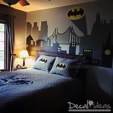 superhero wall decals batman gotham city wall decal batman stickers batman wall art