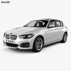 Bmw 1er F20 - bmw 1 series f20 5 door m sport package 2015 3d model
