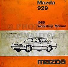 auto repair manual free download 1989 mazda 929 1989 mazda 929 repair shop manual original