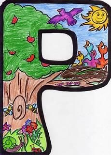 cosillas de infantil letras de primavera