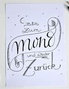 lettering diy kalligraphie schrift coole schrift und