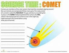halleys comet worksheet science time comets science worksheets astronomy