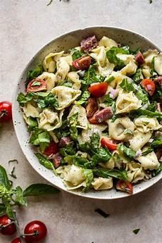 Tortellini Salat Rezept - spinach tortellini salad salt lavender