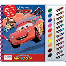 disney cars deluxe poster paint colour big w