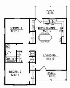 Small 2 Bedroom Floor Plans