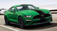 2019 ford mustang gets new quot need for green quot color option