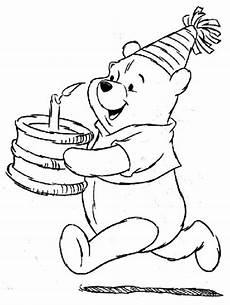 Winnie Puuh Geburtstag Ausmalbilder Free Printable Happy Birthday Malvorlagen F 252 R Kinder In