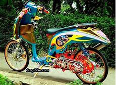 Scoopy Modifikasi Simple by Modifikasi Scoopy Thailook Simple Jari Jari Velg 17