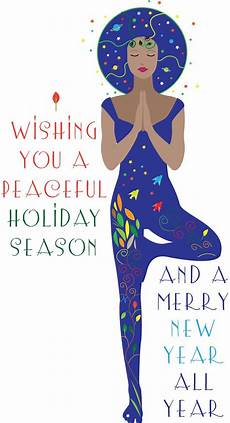 christmas tree yoga card yoga meditation yoga inspiration yoga