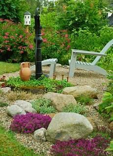 Beete Mit Steinen Gestalten - steingarten anlegen welche pflanzenarten sind am besten