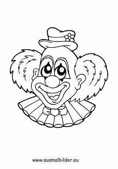 ausmalbild clown zum kostenlosen ausdrucken und ausmalen