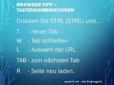 Browser Tipp Schneller Navigieren Mit Tastenkombinationen