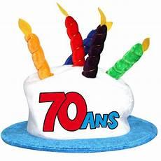 chapeau d anniversaire 70 ans
