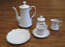 Mitterteich Bavaria Porzellan - speiseservice kaffeeservice mitterteich bavaria goldrand 2000