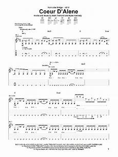 coeur d alene piano sheet music and piano sheet pinterest coeur d alene by alter bridge guitar tab guitar instructor