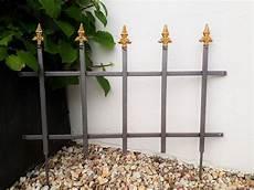 zaun zum stecken steckzaun zaun beeteinfassung spalier breite 58cm