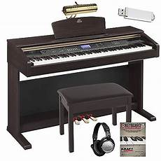yamaha arius ydp v240 digital piano w bench headphones
