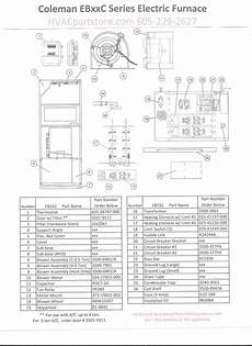 Coleman Electric Furnace Wiring Diagram Free Wiring Diagram