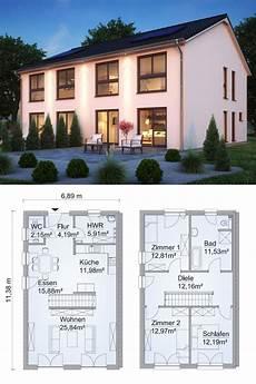 moderne doppelhaushälfte grundrisse doppelhaus architektur modern grundriss schmal mit