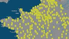 carte gilet jaune blocage carte hausse du carburant tous les points de blocage