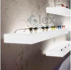 mensole luminose mensole luminose led in plexiglass opalino plex d autore