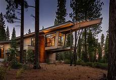 the benefits of a nature surrounded home modern cabin like retreat the californian landscape