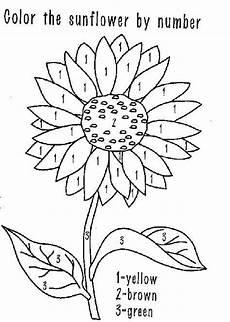 Sonnenblume Malen Nach Zahlen Malvorlage Sonnenblume Malen Nach Mzahlen Malvorlagen Blumen