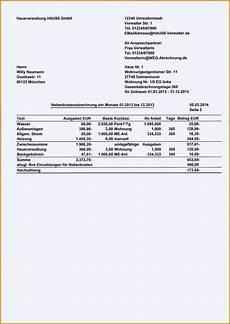 exklusiv nebenkostenabrechnung erstellen vermieter