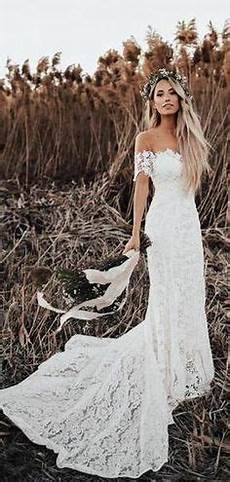 Shoulder Vintage Lace Mermaid Cheap Wedding Dresses Shore Sleeves Bridal Dresses Wd432