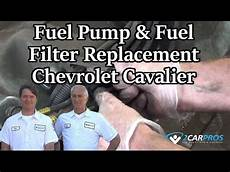 Fuel Fuel Filter Replacement Chevrolet Cavalier