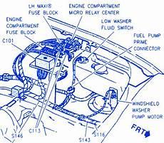 1995 cadillac eldorado fuse diagram cadillac concours 1995 engine compartment electrical circuit wiring diagram carfusebox