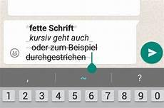 Fett Schreiben In Whatsapp - whatsapp trick fett kursiv und durchgestrichen