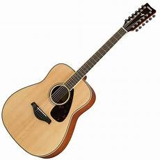 Yamaha Fg820 12 12 String Acoustic Guitar
