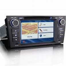 gps car radio cd player satnav bluetooth stereo for bmw 3