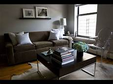 brown and grey living rooms youtube