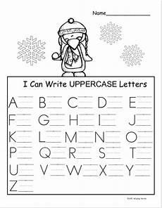 winter letter worksheets 20040 free winter kindergarten letter writing worksheet madebyteachers