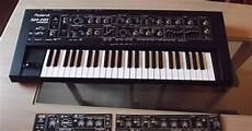 Matrixsynth Roland Sh 201 Customsynth Synth Overlay Black