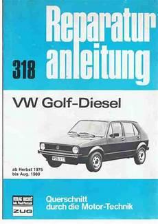 reparaturanleitung vw golf 1 diesel youngtimer topseller