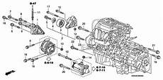 Oem 2007 Honda Cr V 5 Door Engine Mounting Bracket Parts