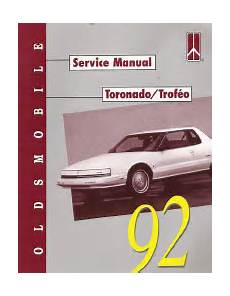 motor repair manual 1992 oldsmobile toronado electronic throttle control 1992 oldsmobile toronado factory service manual