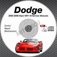 motor auto repair manual 2003 dodge viper security system 2003 2006 viper 8 3l v10 service manual cd body powertrain repair shop
