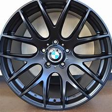 bmw wheels 525i 528i 530i 535i 545i 550i matte black 19 quot