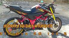 Modifikasi Motor R New by Modifikasi All New Cb 150 R Megapro Monovlog