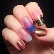 nail school week 5 acrylics ahoy chalkboard nails