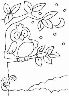 Malvorlage Kinder Eule Kinder Malvorlagen Eulen X13 Ein Bild Zeichnen