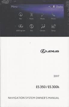 automotive service manuals 1999 lexus es navigation system 2017 lexus es navigation system owner s manual original