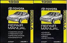 what is the best auto repair manual 1998 jeep cherokee electronic valve timing 1998 toyota corolla repair shop manual set original