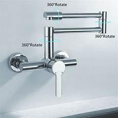 restaurant kitchen faucet canton single handle pot filler kitchen faucet with 360 degree rotation funitic