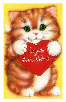 Coloriage St Valentin Chat 224 Imprimer