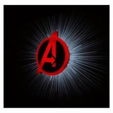 buy 3dlightfx avengers logo 3d decor wall light price